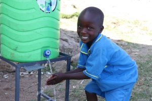 The Water Project:  Big Smiles At The Handwashing Station