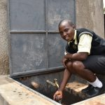 The Water Project: St. Gerald Mayuge Secondary School -  Smiles At The Rain Tank