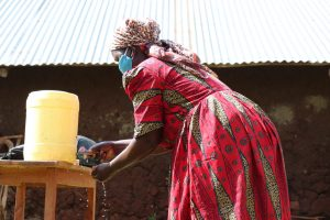 The Water Project:  She Demonstrated The Handwashing Nicely