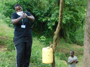 The Water Project:  Emmah Leads Handwashing Session