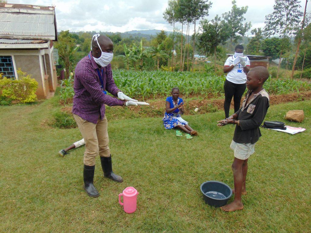 The Water Project : 5-kenya4561-covid19-handwashing-demonstration