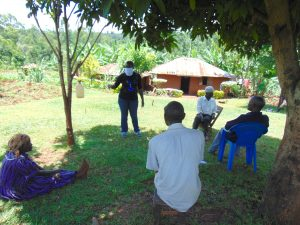 The Water Project:  Facilitator In Mask Conducting Training