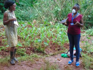 The Water Project:  Facilitator Explaining Coronavirus Symptoms