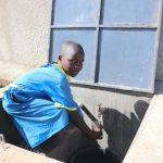 The Water Project: St. Michael Mukongolo Primary School -  Getting A Fresh Drink