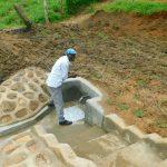 The Water Project: Shikangania Community, Abungana Spring -  Smiles At The Spring