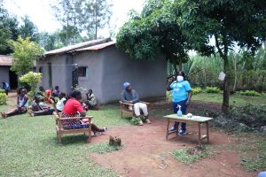 The Water Project:  Team Leader Catherine Emphasizes Handwashing And Social Distancing