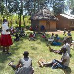 The Water Project: Munenga Community, Burudi Spring -  Community Listening Keenly