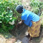 The Water Project: Eshiakhulo Community, Kweyu Spring -  Handwashing At Kweyu Spring
