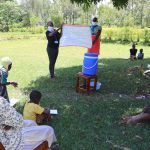 The Water Project: Shihingo Community, Mangweli Spring -  Use Of Charts At The Training