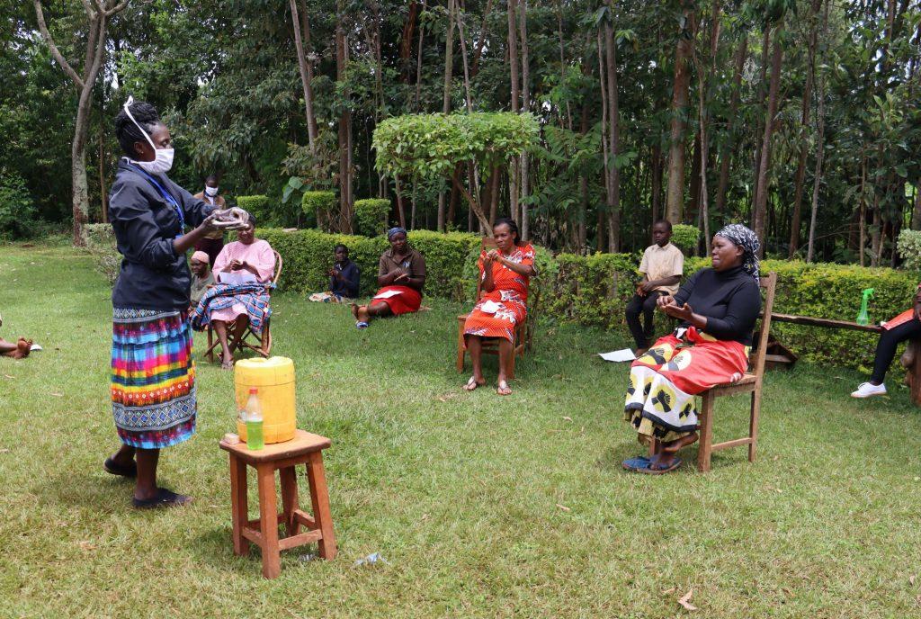 The Water Project : 6-kenya4852-covid19-handwashing-demonstration-1