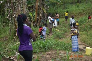 The Water Project:  Training At Ombalasi Spring