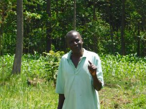 The Water Project:  Mr Kubai Reminds Everyone To Observe Curfew