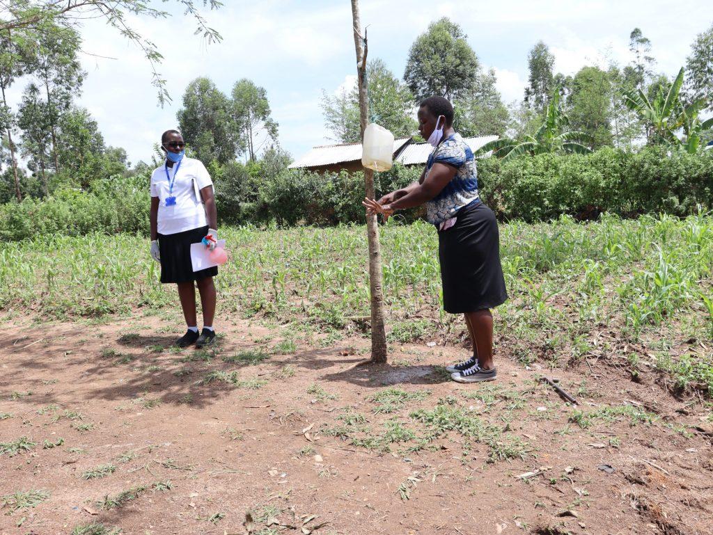 The Water Project : 7-covid19-kenya4705-handwashing-demonstration