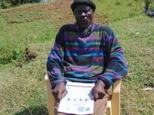 The Water Project:  Village Elder Attending The Training