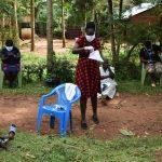 The Water Project: Musango Community, Emufutu Spring -  Mask Making Demonstration