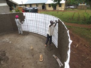 The Water Project:  Cementing Interior Walls