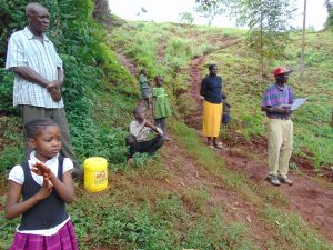 The Water Project:  Following Along With Handwashing Demonstration