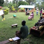 The Water Project: Malava Community, Ndevera Spring -  Everyone Listened Carefully