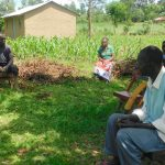 The Water Project: Ataku Community, Ngache Spring -  Mr Ngache Following The Training Keenly