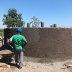 The Water Project: St. Michael Mukongolo Primary School -  Outer Ceme T And Plasterwork
