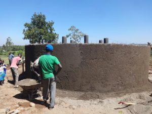 The Water Project:  Outer Ceme T And Plasterwork