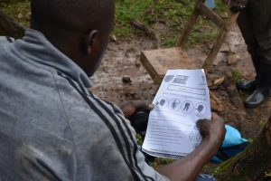 The Water Project:  Using Handouts With Covid Information At The Training