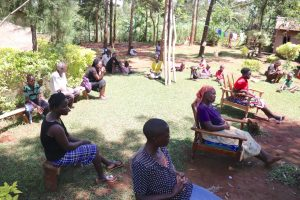 The Water Project:  The Sun Was Scorching Hot But They Kept An Open Ear