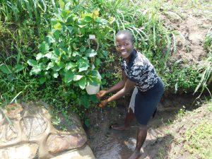 The Water Project:  Enjoying Handwashing At Kweyu Spring