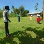 The Water Project: Ataku Community, Ngache Spring -  Social Distancing During Coronavirus Training