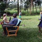 The Water Project: Mukhangu Community, Okumu Spring -  Participants Following The Training