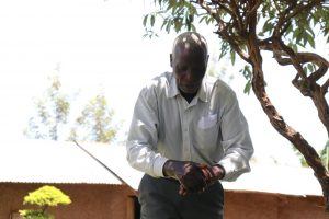 The Water Project:  Mr Shapaya Demonstrating Handwashing