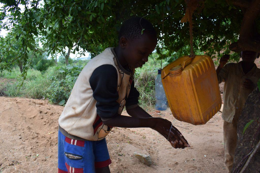 The Water Project : covid19-kenya-4038_covid-19-training-and-sensitization-1