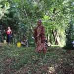The Water Project: Irumbi Community, Okang'a Spring -  A Community Member Asks A Question