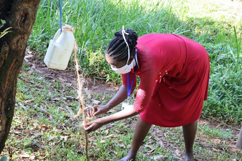 The Water Project : covid19-kenya18130-handwashing-demonstration-1