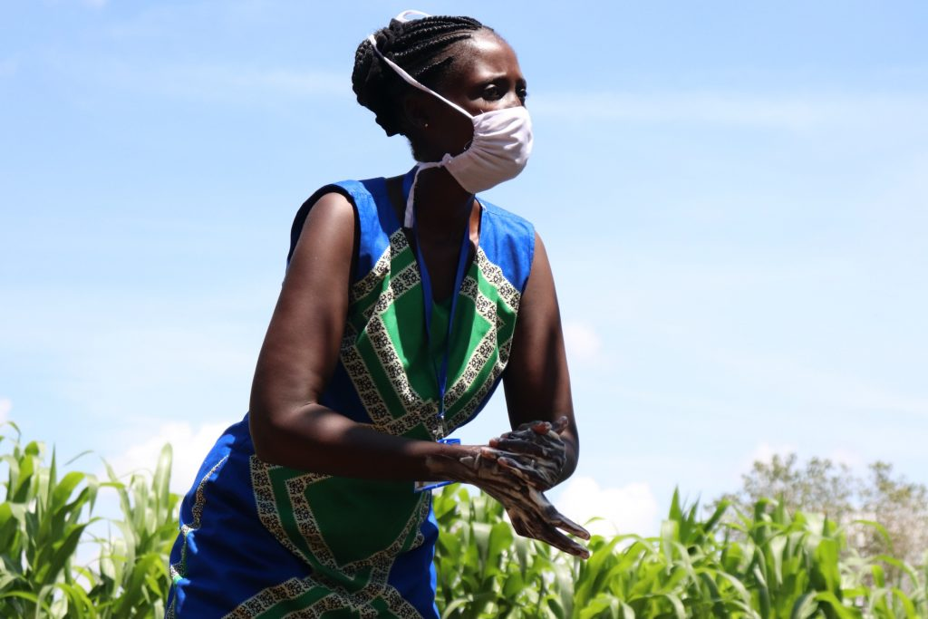 The Water Project : covid19-kenya18134-handwashing-demonstration