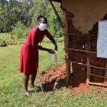 The Water Project: Irumbi Community, Shatsala Spring -  Building A Simple Handwashing Station