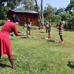 The Water Project: Irumbi Community, Shatsala Spring -  The Handwashing Exercise