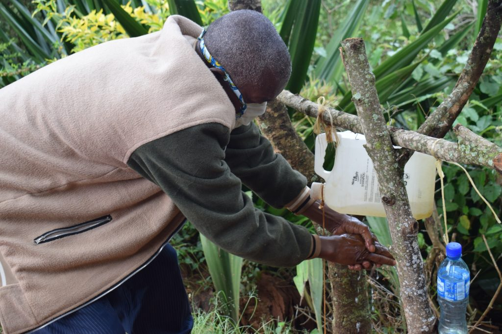 The Water Project : covid19-kenya18180_covid-19-community-outreach-6