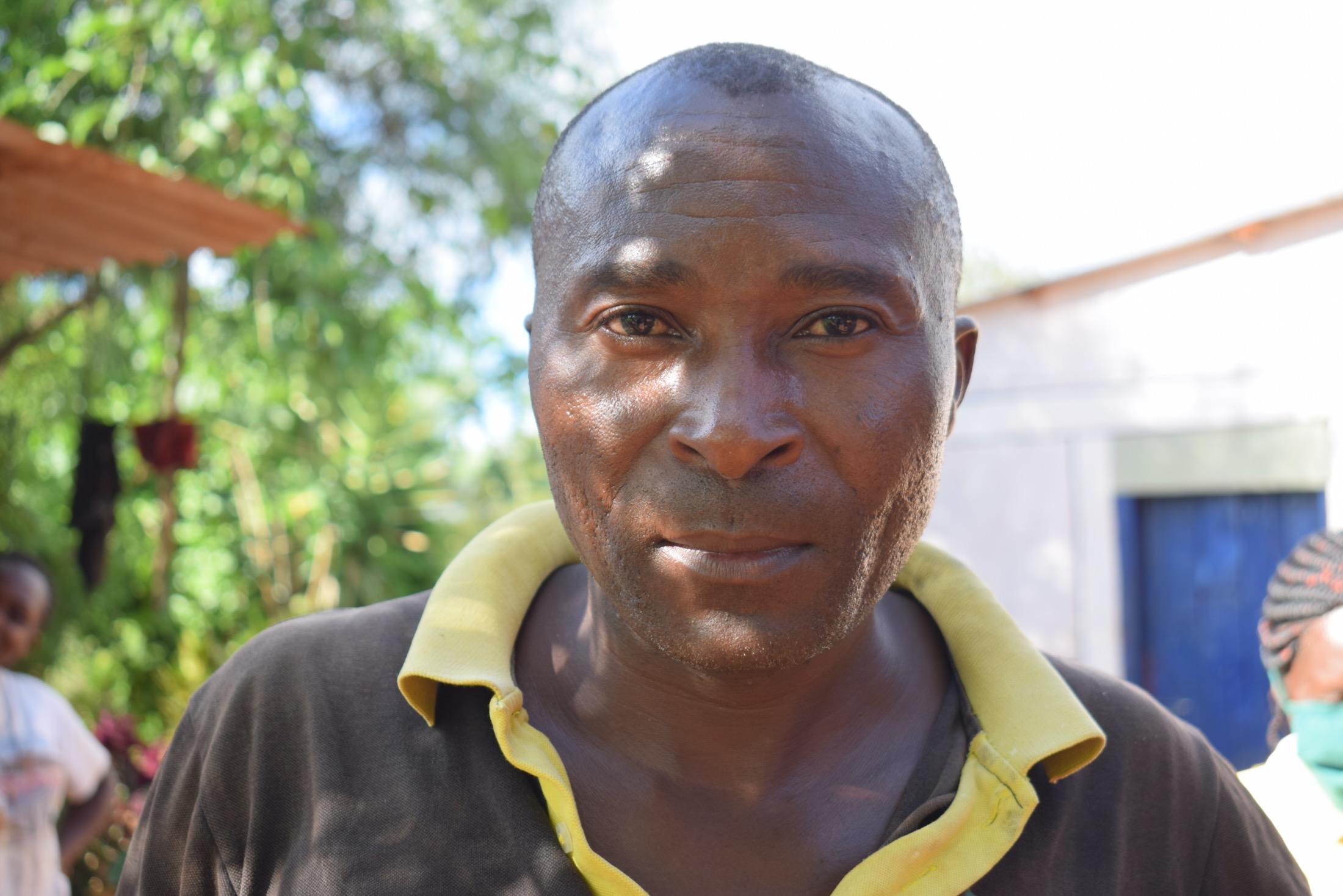 The Water Project : covid19-kenya18184_bernard-wambua-40-years-member