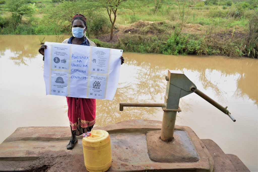 The Water Project : covid19-kenya18188_covid-19-community-outreach-6