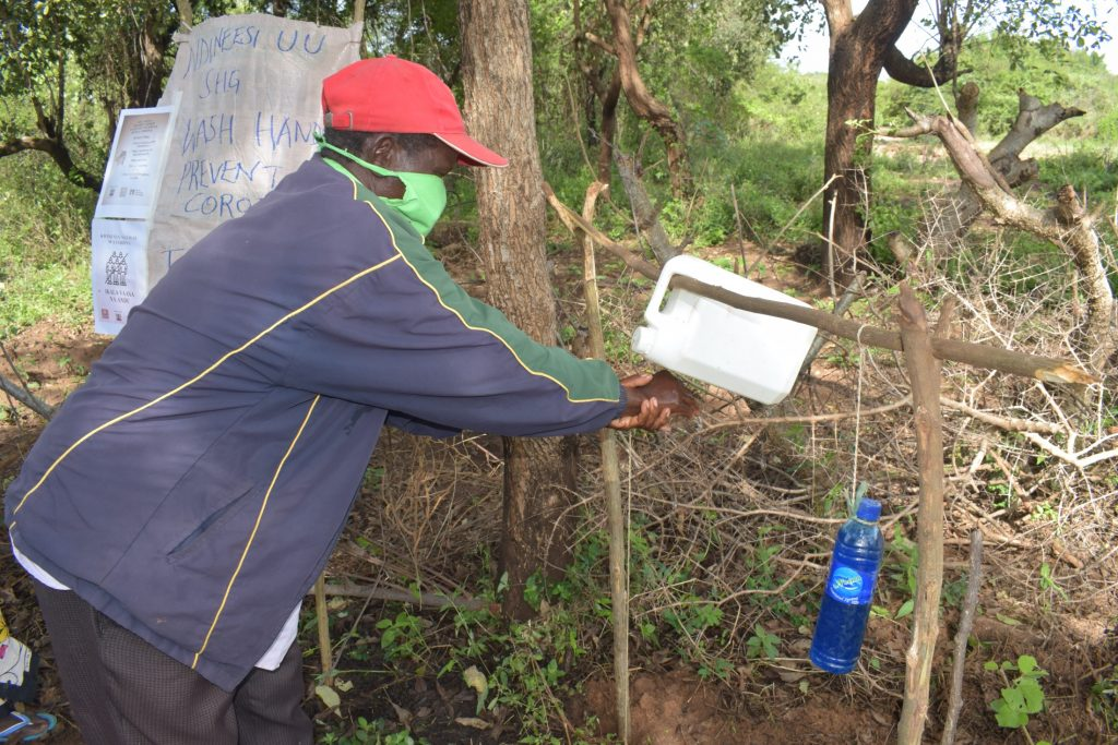 The Water Project : covid19-kenya18209_covid-19-outreach-12
