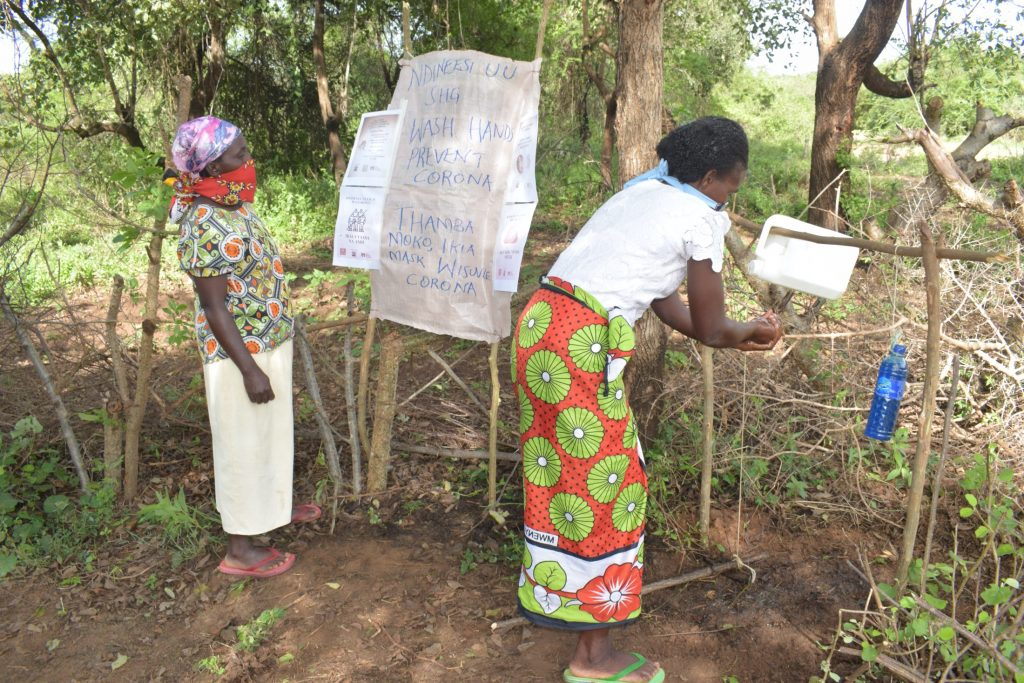 The Water Project : covid19-kenya18209_covid-19-outreach-17