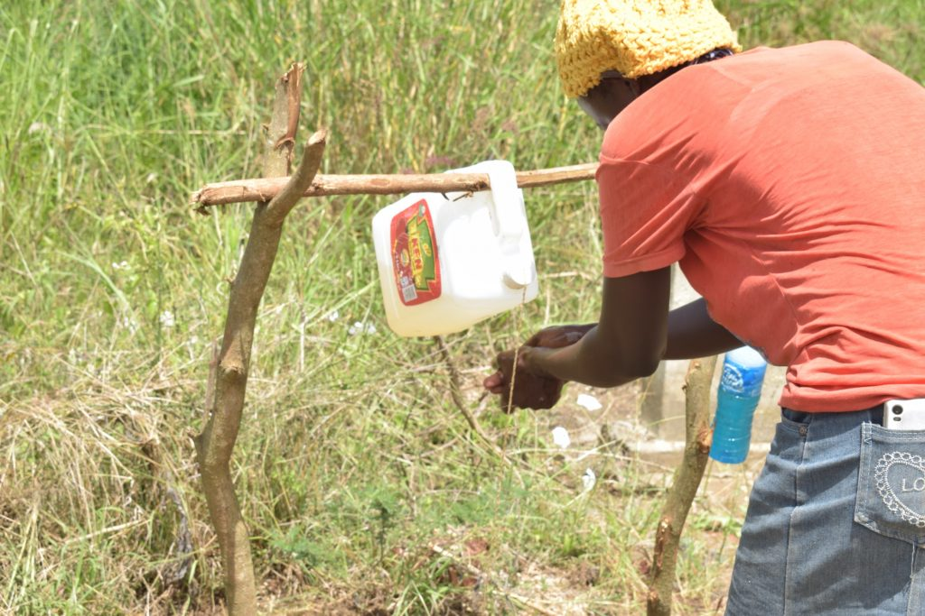 The Water Project : covid19-kenya18308_covid-19-outreach-11