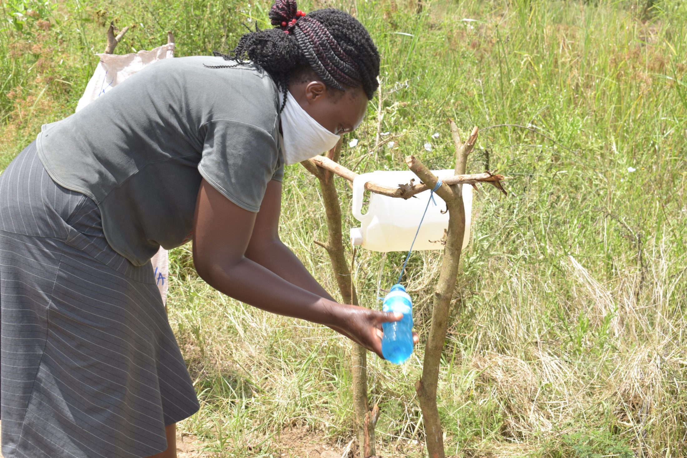 The Water Project : covid19-kenya18308_covid-19-outreach-4