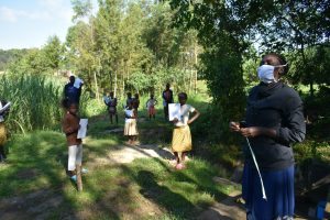 The Water Project:  Facilitator Conducting Training At The Spring
