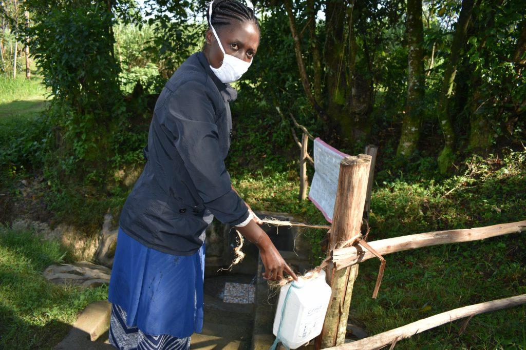 The Water Project : covid19-kenya19157-improvised-handwashing-point