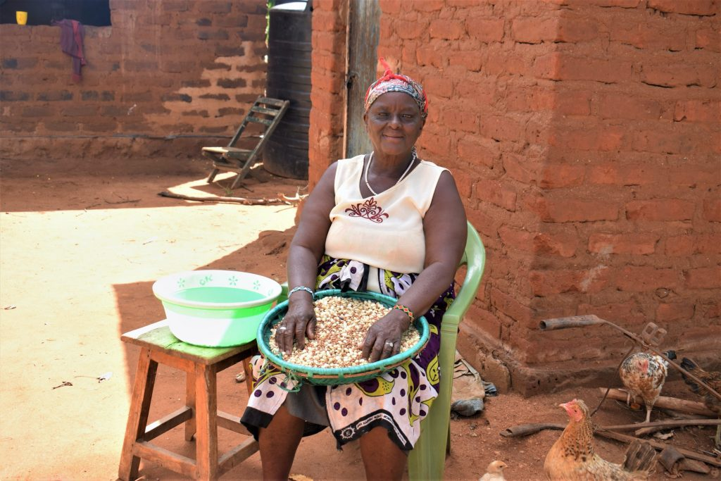 The Water Project : covid19-kenya19188_wathi-muisyo-70-years