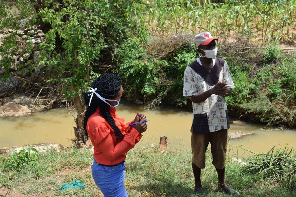 The Water Project : covid19-kenya19208-handwashing-participant