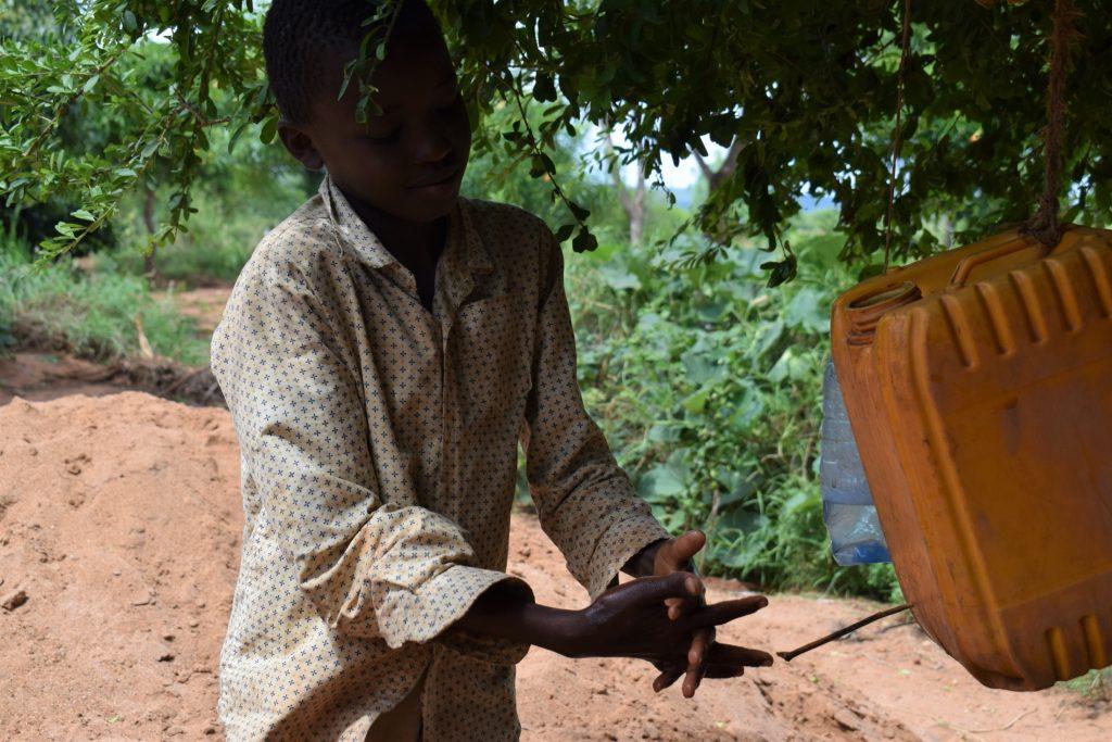 The Water Project : covid19-kenya4038_covid-19-training-and-sensitization-2