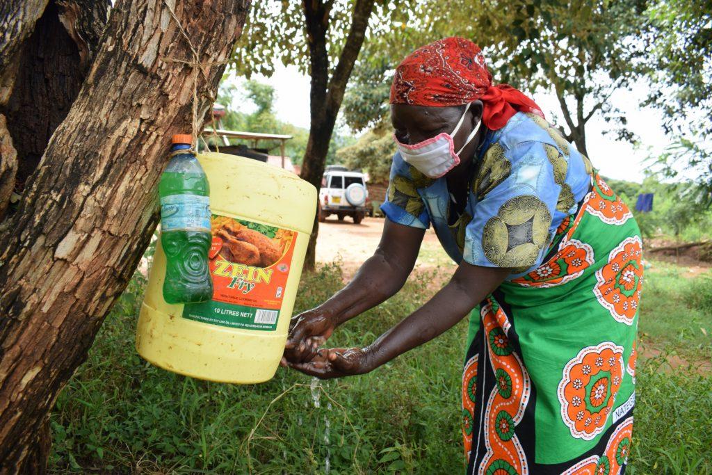 The Water Project : covid19-kenya4040-kyalimba-shg_-covid-19-training-and-sensitization-6